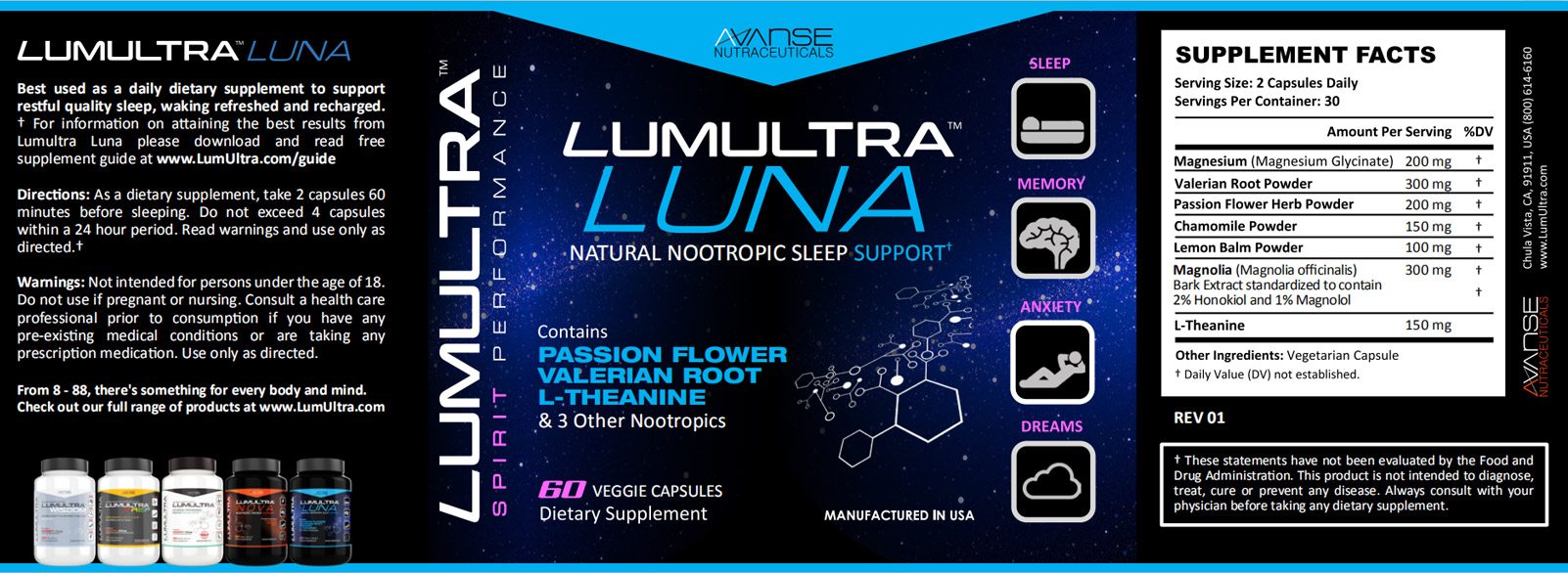 LumUltra Luna