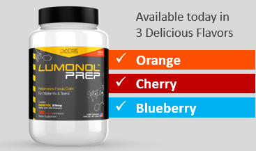 3 Delicious Flavors - LumUltra Prep