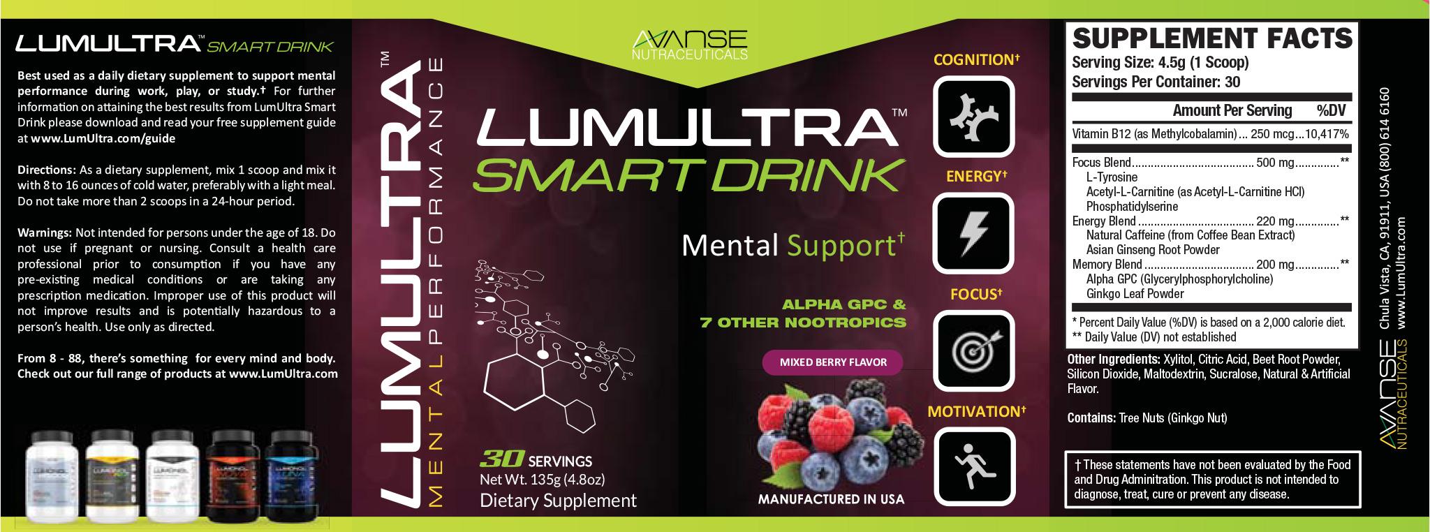 LumUltra Smart Drink