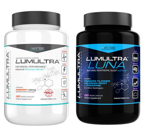 1 Bottle Lumultra + 1 Bottle Luna