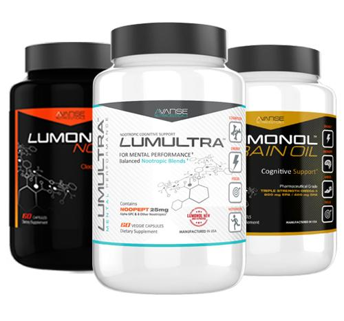 1 Bottle Lumultra + 1 Bottle Nova + 1 Bottle Brain Oil
